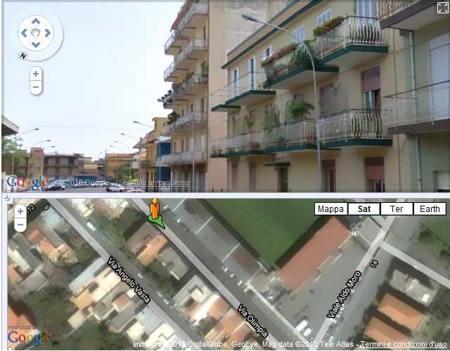Clicca per Giarre su Google Street View