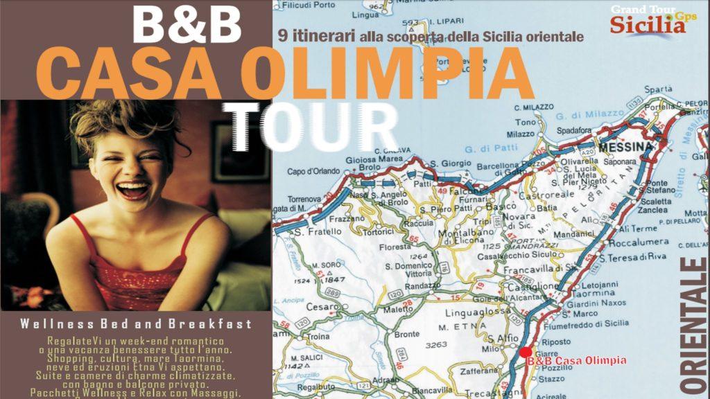 Casa Olimpia Tour cosa fare vacanza Sicilia itinerari viaggio e consigli