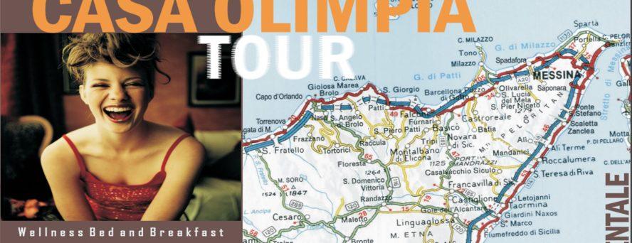 Come andare in Sicilia Casa Olimpia Tour cosa fare vacanza Sicilia itinerari viaggio e consigli