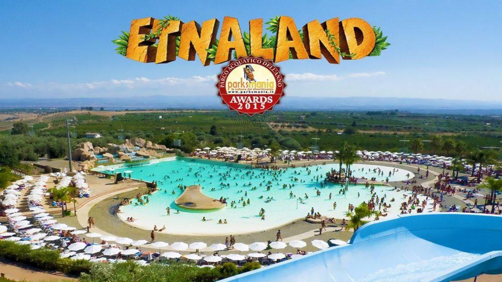 Etnaland Catania AcquaPark Parco acquatico piscina con le onde