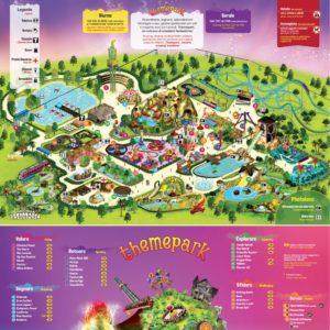 Etnaland Themepark Mappa Attrazioni e Servizi