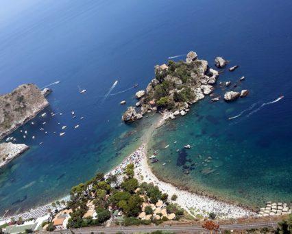 Sicilia Offerte Last Minute Mare 17km: spiaggia Isola Bella Taormina