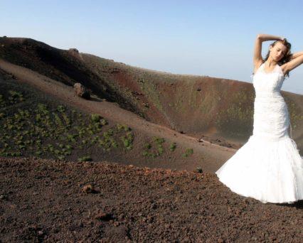 Matrimoni Sicilia sposa su Etna