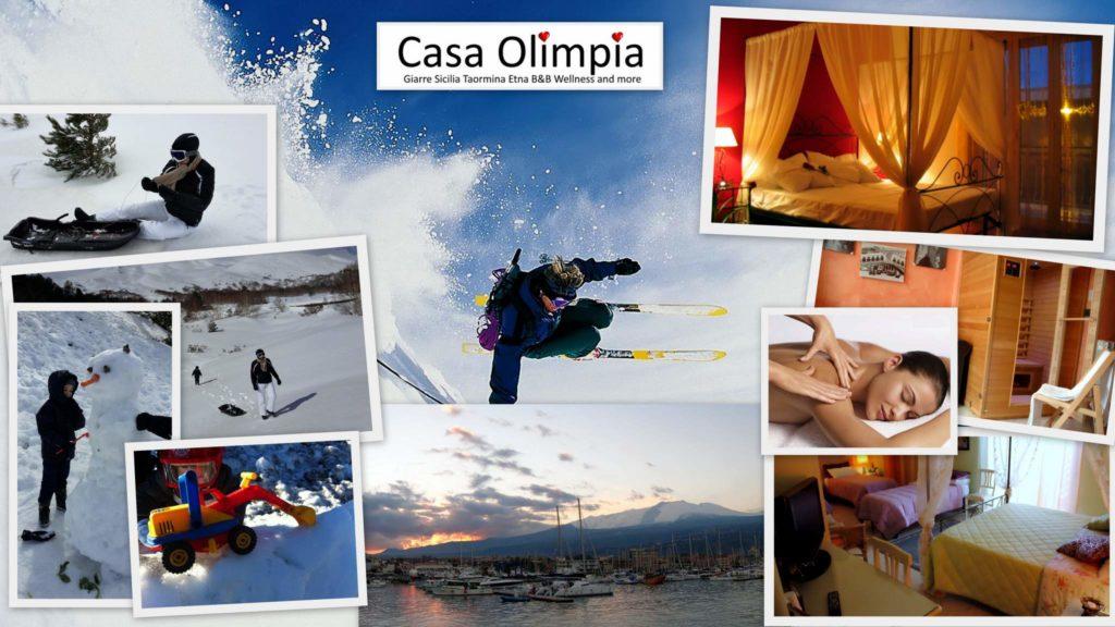 Offerte Vacanza settimana bianca sicilia sulla neve Etna