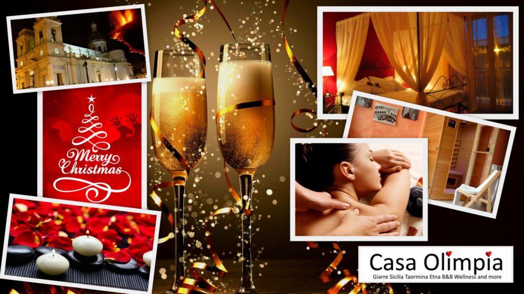 Eventos: jantar na véspera de Natal de Ano Novo romântico relaxar sauna spa