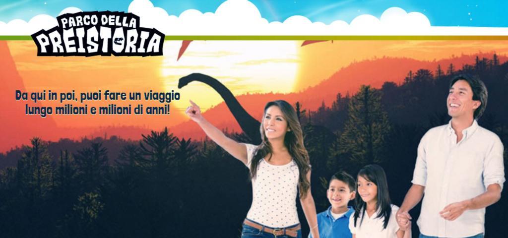 Etnaland Parco dei Dinosauri Preistoria Sicilia Catania attrazione per famiglie con bambini
