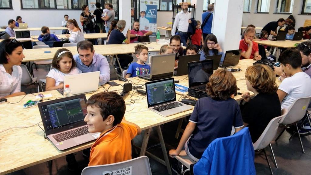 #Smartkids16 Dalla ezione all'esperienza Coding Coderdojo