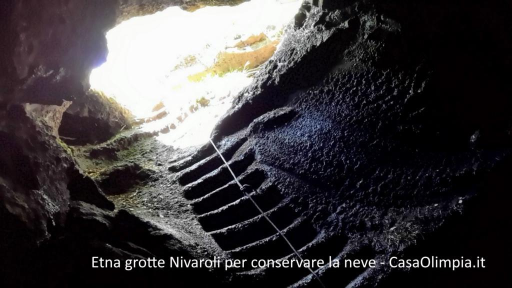 Etna caves of Nivaroli to preserve the snow