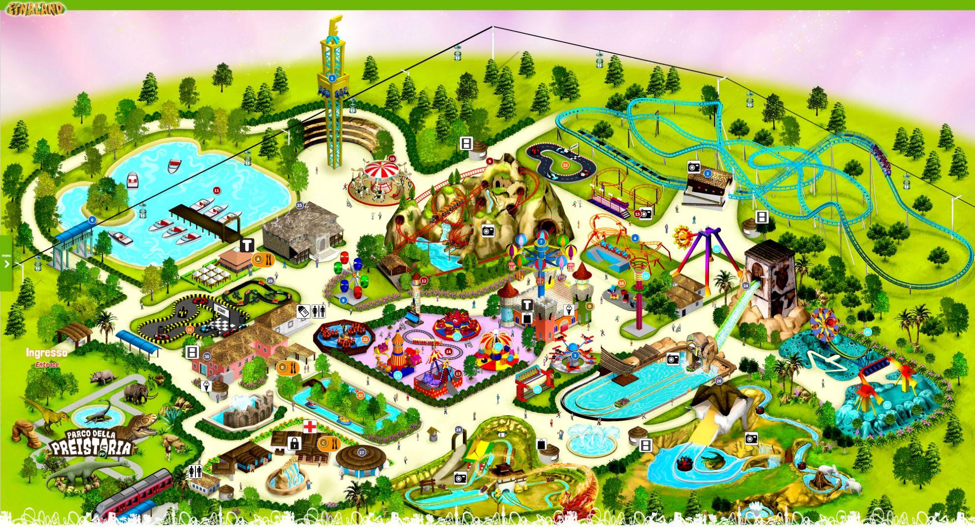 Calendario Etnaland.Etnaland Catania Themepark Ticket Prices 2019 Theme Park