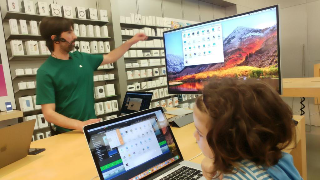 Apple Store Catania sessione Today at Apple uso Mac Intermedio